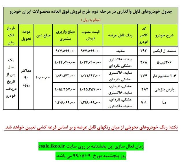شرایط جدید ثبت نام ایران خودرو / مرداد 99