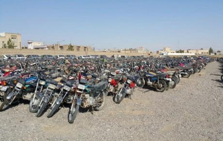 تکلیف موتورسیکلتهای توقیف شده چیست؟