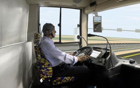 حمایت از طرحهای مرتبط با شبیه سازی آموزش رانندگی