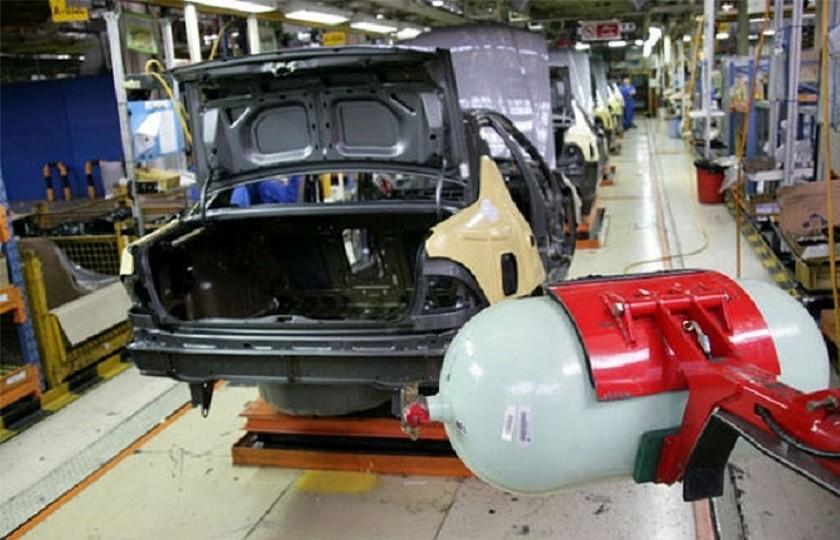 رشد تولید خودروهای دوگانه سوز