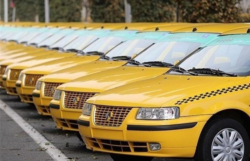 شماره گذاری 5000 تاکسی با استاندارد یورو 4