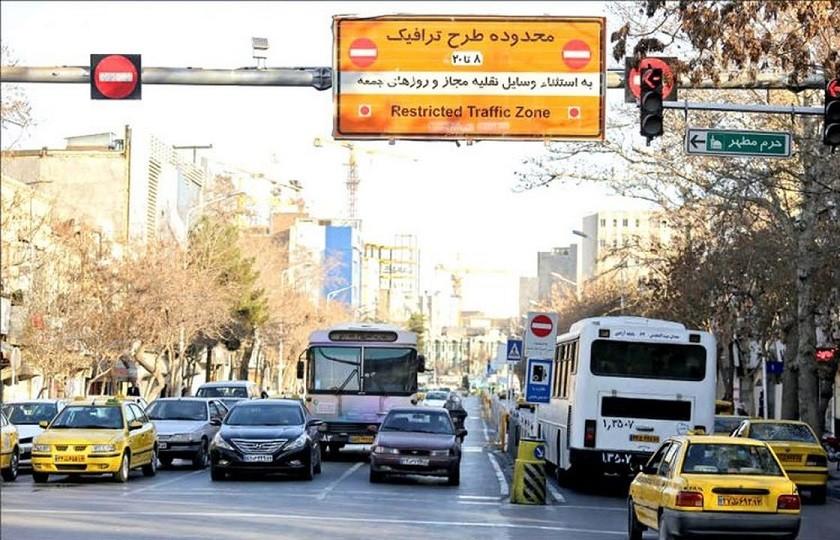 لغو طرح ترافیک در هفته آینده