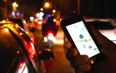 نحوه نظارت بر تاکسیهای اینترنتی