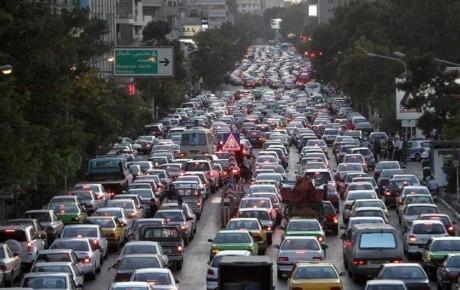 تحلیل وضعیت ترافیکی تهران