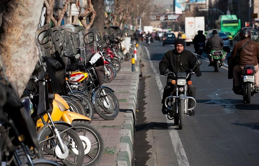 طرح جدید ساماندهی موتورسیکلت سواران