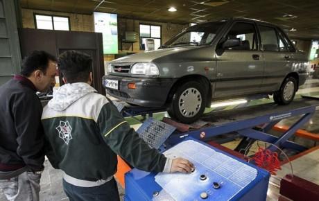 گران شدن نرخ معاینه فنی خودروها طی روزهای آینده
