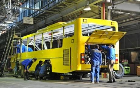 ایران خودرو متعهد به کاهش ارزبری تولید اتوبوس شد