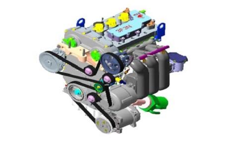 تولید موتور ۳ استوانه توسط ایران خودرو