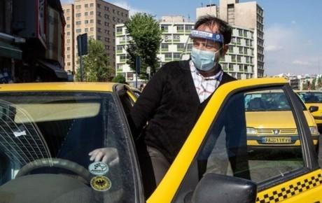 جریمه عدم استفاده از ماسک در تاکسی