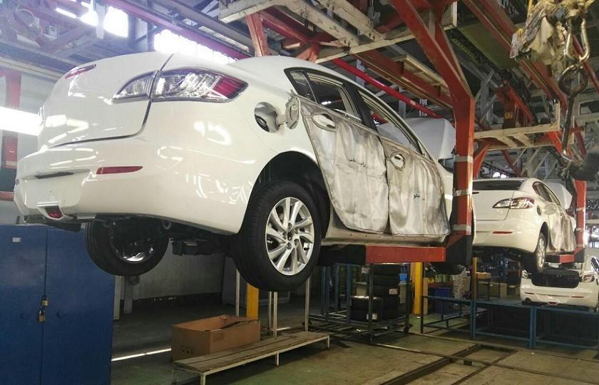 رشد 23 درصدی تولید خودروسازان خصوصی