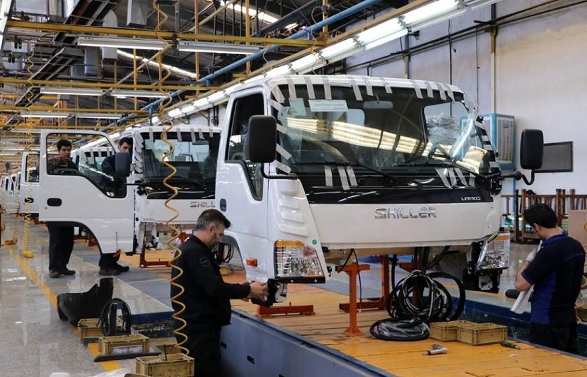 رشد 55 درصدی تولید خودروهای تجاری