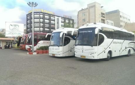 میزان ضریب اشغال صندلی اتوبوسهای بین شهری کاهش یافت