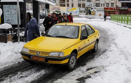 آمادگی سازمان تاکسیرانی برای فصل سرما