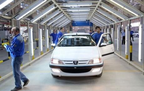 تولید ماهانه خودرو کاهش یافت