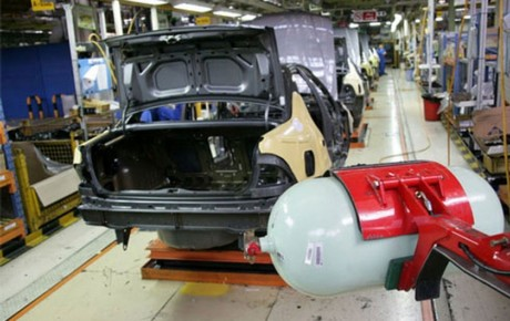 رشد ۷۵ درصدی تولید خودروهای گازسوز