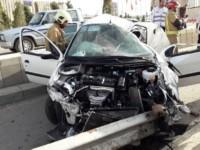 وقوع روزانه ۱۵۰۰ تصادف رانندگی در تهران