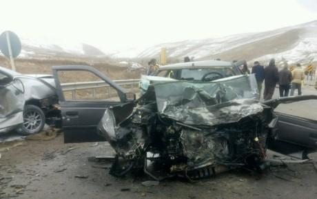 کاهش ۱۵ درصدی تلفات تصادفات