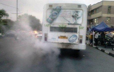 سهم خودروهای دیزلی در آلودگی هوا