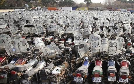 آخرین وضعیت ترخیص موتورسیکلتهای رسوبی