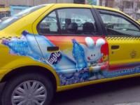 تبلیغات در ناوگان تاکسیرانی قابلیت اجرایی ندارد