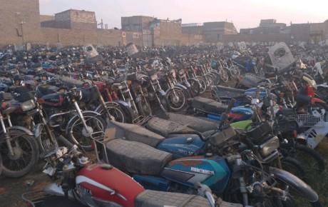 ترخیص ۶۲ هزار موتورسیکلت رسوبی با تسهیلات ویژه