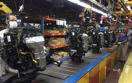 رشد تولید موتور خودروهای سایپا در مگاموتور