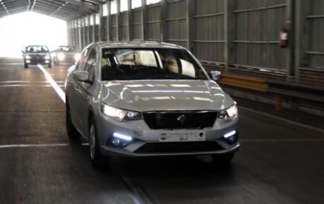 آزمایش امکانات ایمنی تارا محصول جدید ایران خودرو