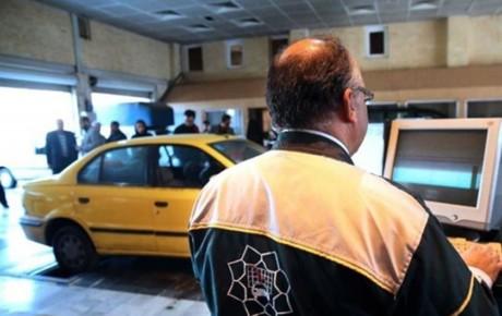 رایگان شدن معاینه فنی تاکسی های تهران