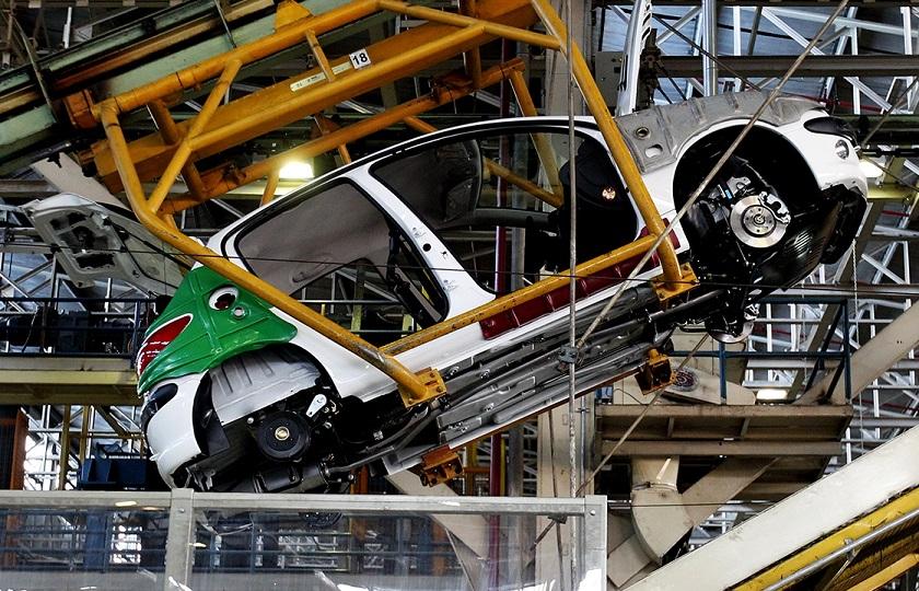 رشد 7 درصدی تولید خودروسازان