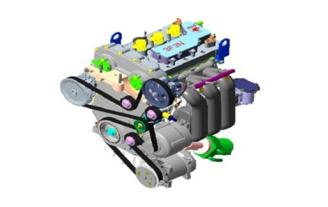 نصب موتور جدید بر روی خودروها از سال ۱۴۰۰ / اولین موتور سه استوانه ملی رونمایی شد