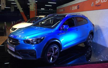 آریا ، اولین خودرو کراس اوور شرکت سایپا وارد خط تولید شد