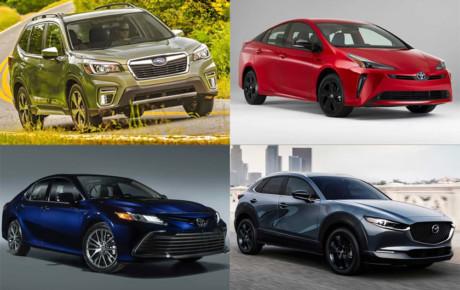 برترین خودرو های بازار آمریکا