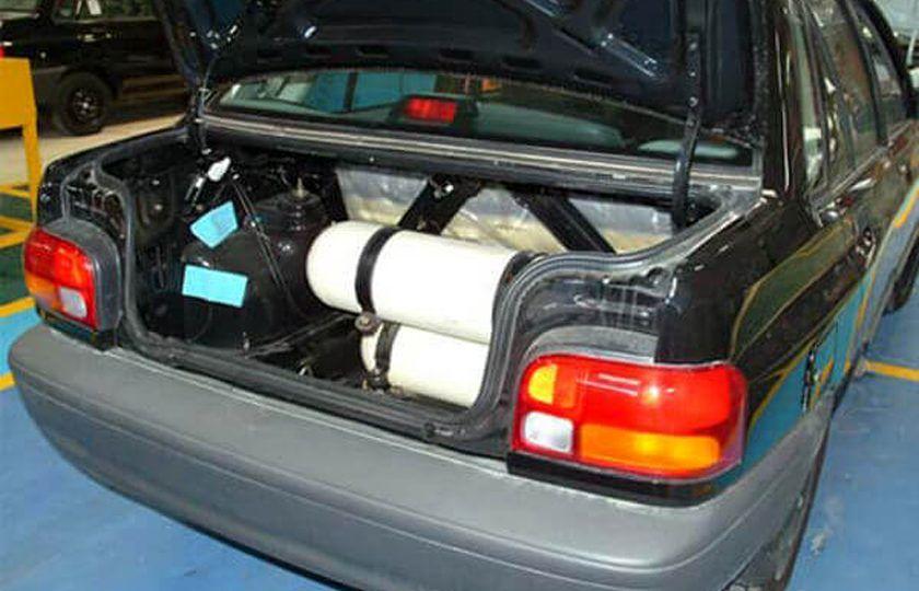 طرح تبدیل خودروهای مسافربر شخصی به دوگانه سوز