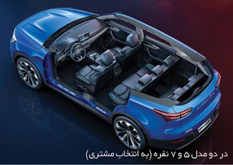 گروه بهمن در سال 1400 با راه اندازی خطوط تولید و انجام تست های لازم، آماده تولید و عرضه SUV جدید خود با نام فیدلیتی است.