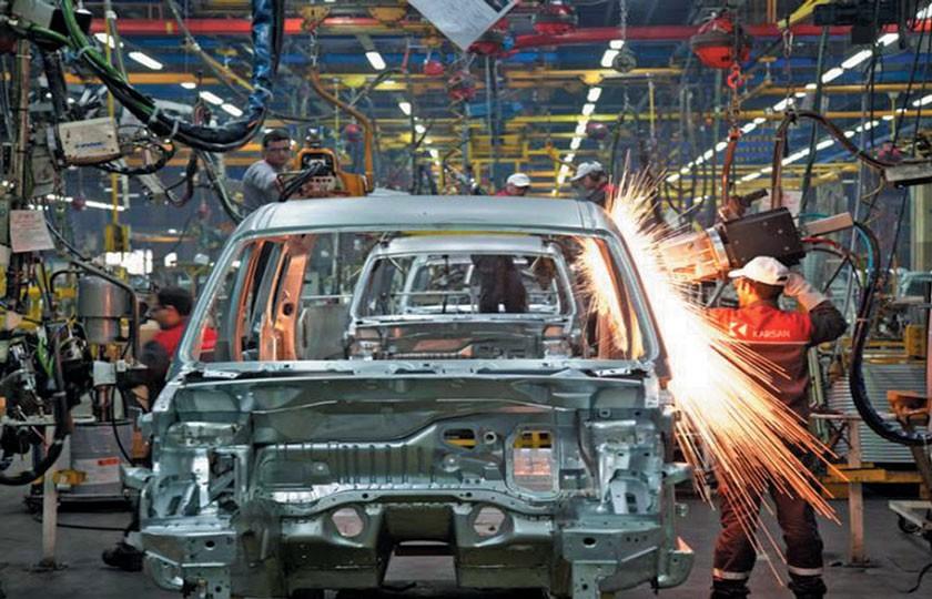 بهبود رشد تولید خودرو