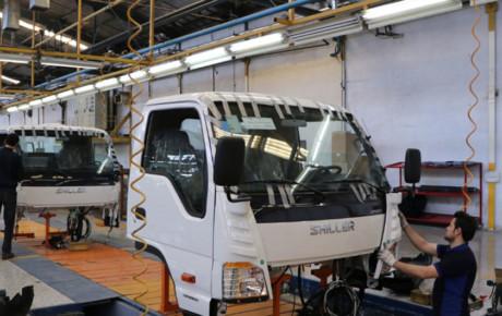 تولید خودروهای تجاری ۶۷ درصد رشد داشت