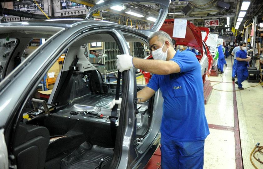 آمار تولید خودرو در بهمن 99