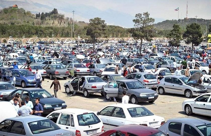 وضعیت بازار خودرو در شب عید