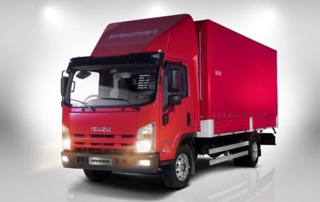 کامیونت NPR75K جدیدترین محصول ۵ ستاره بهمن دیزل