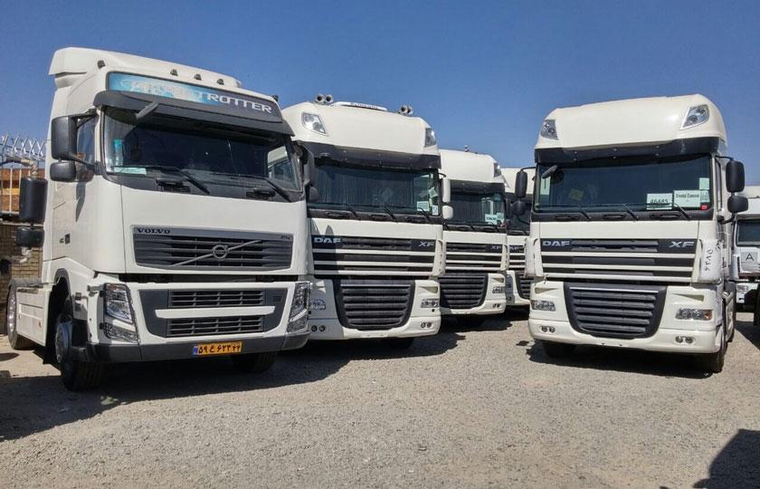 اعلام شرایط ترخیص کامیونهای وارداتی دست دوم