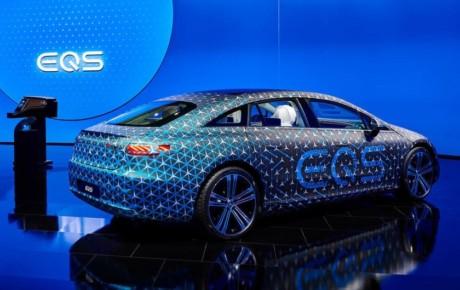 جدیدترین تصاویر کابین مرسدس بنز EQS مدل ۲۰۲۲