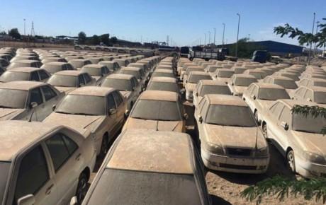 ۲۱۰۰ خودرو در گمرکها ماندهاند