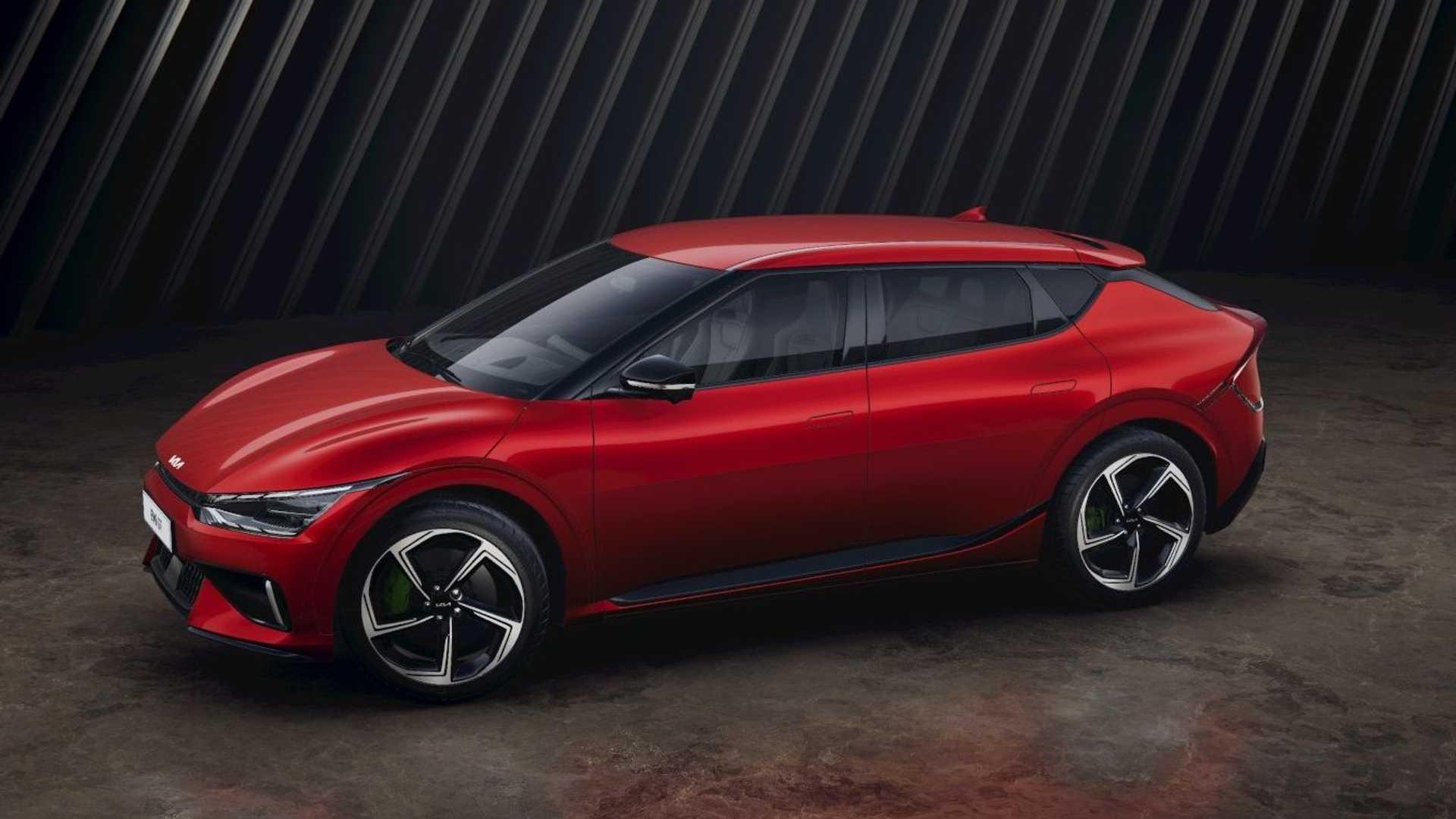 ایی وی6 اولین خودروی باتری الکتریک کره ای