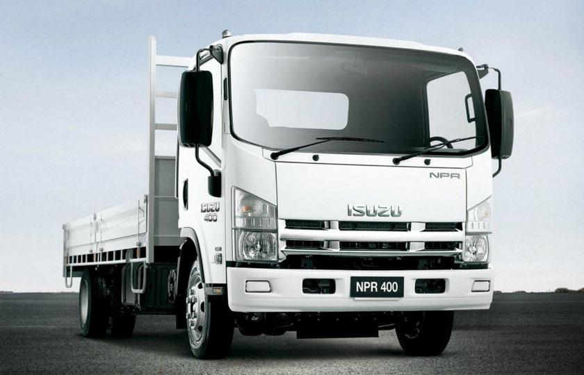 قیمت جدید کامیونهای ایسوزو / اردیبهشت 1400