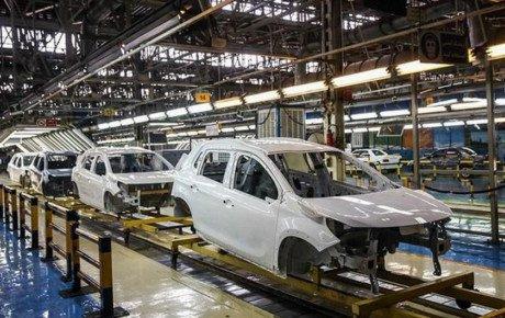 افزایش تولید خودرو در فروردین ۱۴۰۰