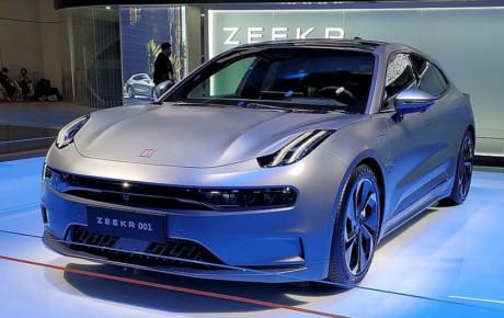 "جیلی ""Zeekr 001"" ، خودروی سطح بالای چینی"