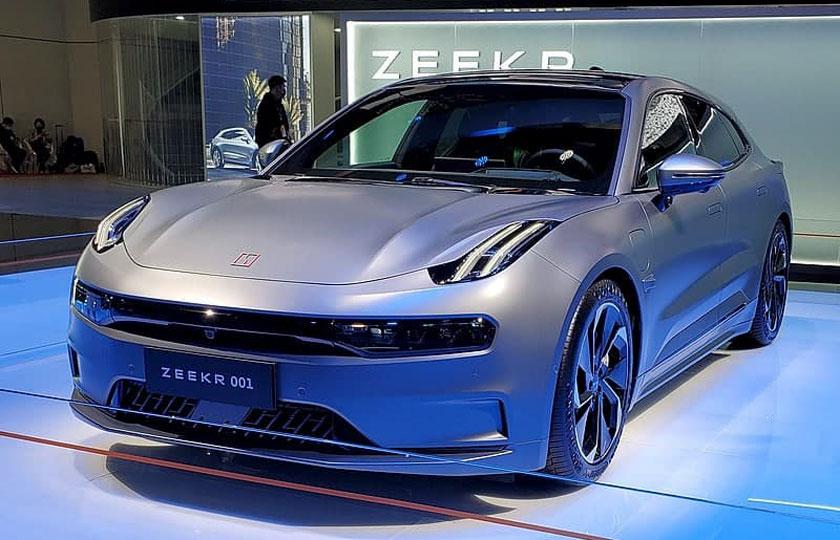 "جیلی ""Zeekr ۰۰۱"" ، خودروی سطح بالای چینی"
