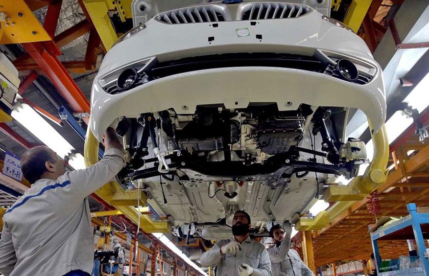 افزایش تولید خودرو در دو ماهه اول سال 1400