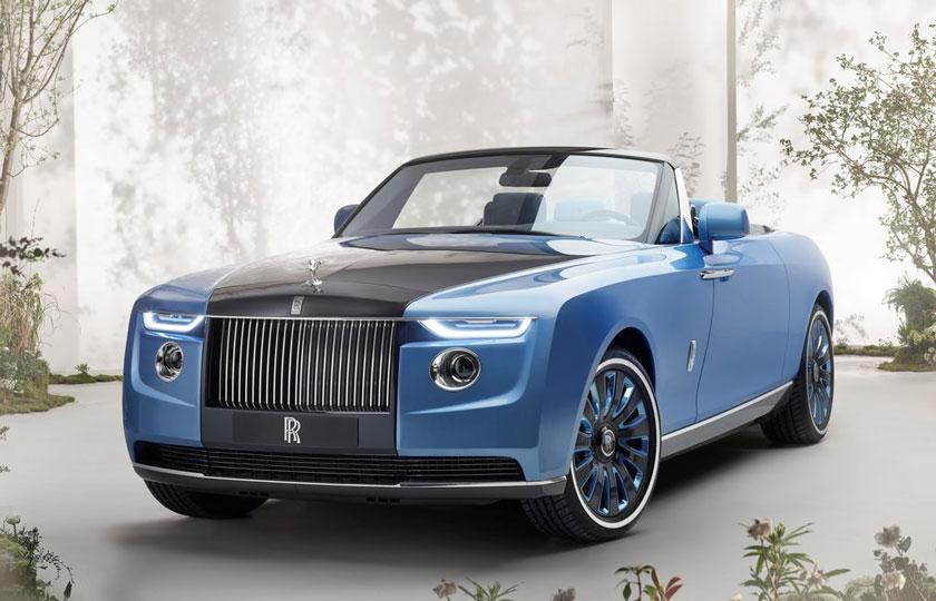 رولزرویس بوت تیل گرانقیمت ترین خودرو جهان