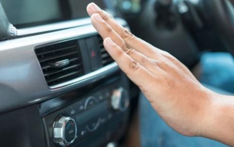 کولر خودرویی که زیر آفتاب بوده را بلافاصله روشن نکنید